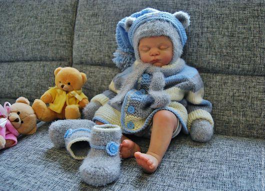 """Одежда ручной работы. Ярмарка Мастеров - ручная работа. Купить Комплект  для малыша """"Малыш ми-ми-мишка"""". Handmade. Мишка"""