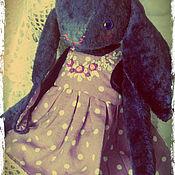 Куклы и игрушки ручной работы. Ярмарка Мастеров - ручная работа Зайка Черничное мороженое.. Handmade.
