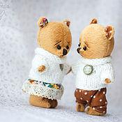 Куклы и игрушки handmade. Livemaster - original item Lovers bears. Handmade.