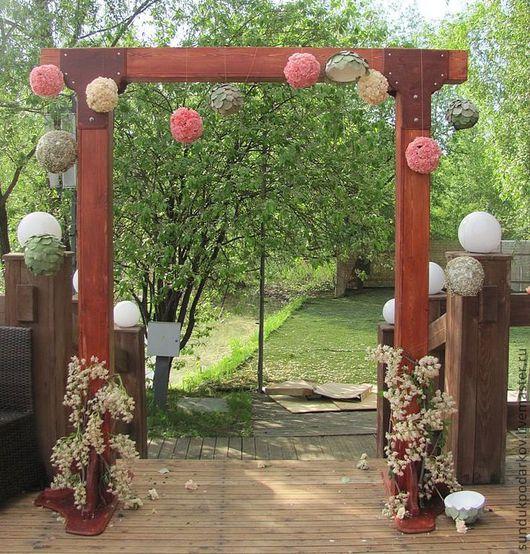 Свадебные аксессуары ручной работы. Ярмарка Мастеров - ручная работа. Купить Свадебная арка для молодоженов. Handmade. Свадьба, бракосочетание, жених