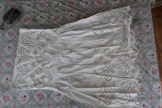 Одежда. Ярмарка Мастеров - ручная работа. Купить Старинное платье  сарафан. Handmade. Комбинированный, платок, ситец хлопок