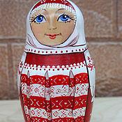 Русский стиль handmade. Livemaster - original item Matryoshka doll in Russian costume. Handmade.