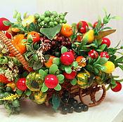 Цветы и флористика ручной работы. Ярмарка Мастеров - ручная работа Осенний урожай. Handmade.