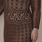 """Одежда ручной работы. Ярмарка Мастеров - ручная работа Авторское вязаное платье """"Грильяж"""". Handmade."""