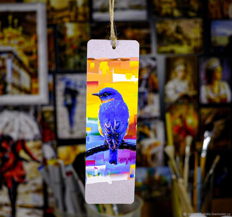 закладка для книги  Голубая сиалия, Подарочные издания, Санкт-Петербург,  Фото №1