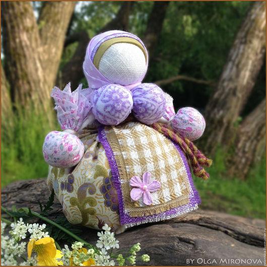 Народные куклы ручной работы. Ярмарка Мастеров - ручная работа. Купить Кубышка-Травница с лавандой. Handmade. Кубышка-травница