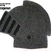 """Работы для детей, ручной работы. Ярмарка Мастеров - ручная работа шапка """"Шлем"""". Handmade."""