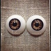 """Материалы для творчества ручной работы. Ярмарка Мастеров - ручная работа Глаза для кукол """"Живой взгляд"""" 20 мм. Handmade."""