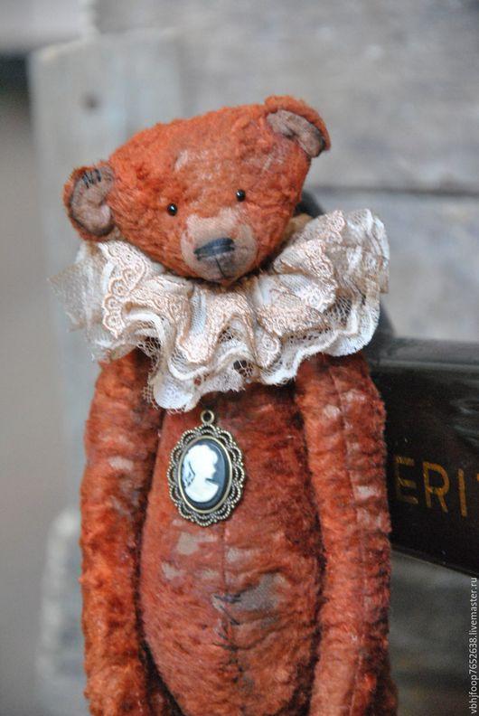 Мишки Тедди ручной работы. Ярмарка Мастеров - ручная работа. Купить Franklyn.. Handmade. Коричневый, состаренный медвель, авторская работа
