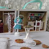 """Кукольные домики ручной работы. Ярмарка Мастеров - ручная работа """"Ателье"""" в чемоданчике. Handmade."""