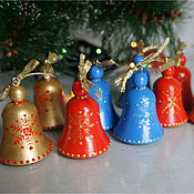 Сувениры и подарки handmade. Livemaster - original item Bells. Christmas decoration. Christmas toys.. Handmade.