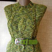 """Одежда ручной работы. Ярмарка Мастеров - ручная работа Жилет """"Зеленый листок"""". Handmade."""