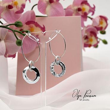 Decorations handmade. Livemaster - original item earrings:
