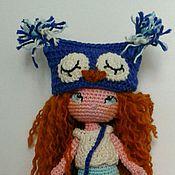 Куклы и игрушки ручной работы. Ярмарка Мастеров - ручная работа Девочка-сова. Handmade.