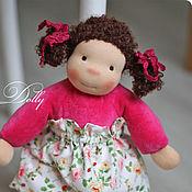 Куклы и игрушки ручной работы. Ярмарка Мастеров - ручная работа Аришка Любопышка - кукла текстильная ручной работы в вальдорфском стил. Handmade.