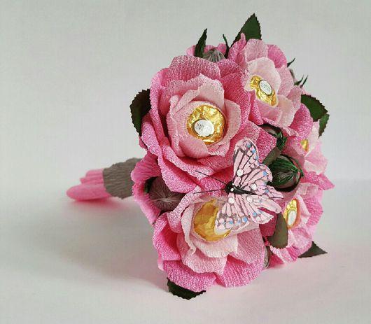 """Букеты ручной работы. Ярмарка Мастеров - ручная работа. Купить Букет из конфет """"Леди Роуз"""". Handmade. Праздник, девушке"""