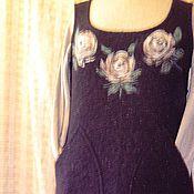 Одежда ручной работы. Ярмарка Мастеров - ручная работа сарафан с розами. Handmade.