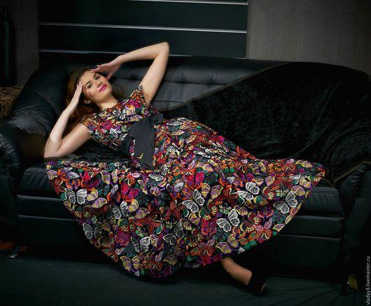 Платья ручной работы. Ярмарка Мастеров - ручная работа. Купить платье из кружева макраме valentino. Handmade. Комбинированный, кружево