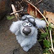 Куклы и игрушки ручной работы. Ярмарка Мастеров - ручная работа Первым делом самолеты!(Собака). Handmade.