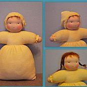Куклы и игрушки ручной работы. Ярмарка Мастеров - ручная работа Кукла в спальной одежке 24-26 см. Handmade.