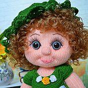 """Куклы и игрушки ручной работы. Ярмарка Мастеров - ручная работа Кукла вязаная """"Оленька"""". Handmade."""