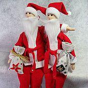 Куклы и игрушки ручной работы. Ярмарка Мастеров - ручная работа Санта-Клаус. Handmade.