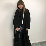 Одежда handmade. Livemaster - original item Cardigan black long.. Handmade.