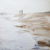 Картины и панно handmade. Livemaster - original item Painting in the style of huge North sea. Handmade.