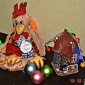 Куклы и игрушки ручной работы. Ярмарка Мастеров - ручная работа символ 2017 Петух огненный. Handmade.
