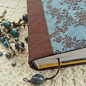 """Обложка для книги """"Шоколадно-голубая"""""""