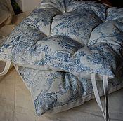 Для дома и интерьера ручной работы. Ярмарка Мастеров - ручная работа Сидушка на стул. Handmade.