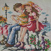 Картины и панно ручной работы. Ярмарка Мастеров - ручная работа Мальчик и девочка. Handmade.