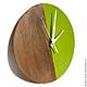 Часы для дома ручной работы. Ярмарка Мастеров - ручная работа. Купить Часы настенные Форест. Часы ручной работы.. Handmade.