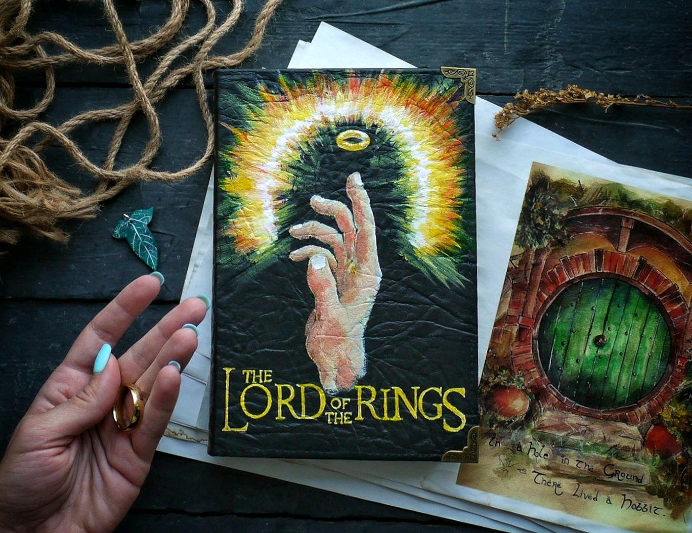 Блокнот «The Lord of The Rings» в стиле вселенной Властелина колец, Блокноты, Новосибирск,  Фото №1