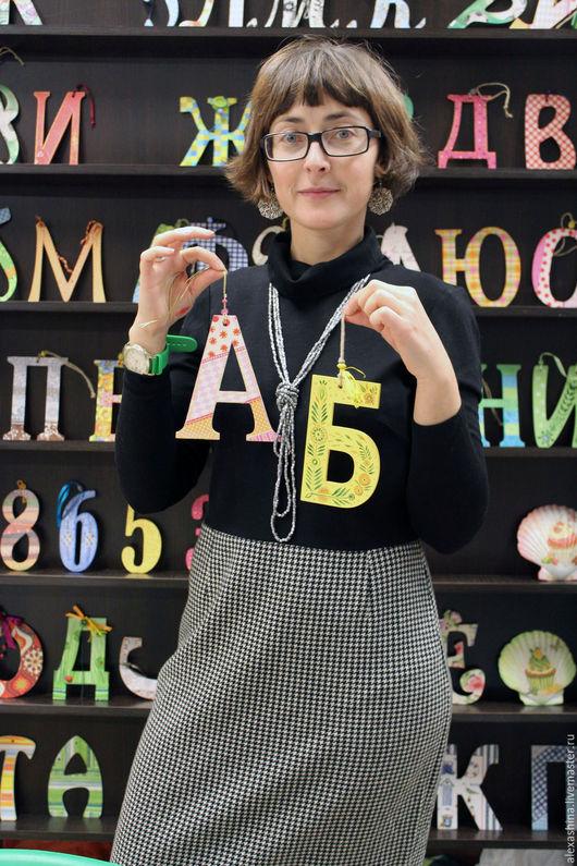 Интерьерные слова ручной работы. Ярмарка Мастеров - ручная работа. Купить Буквы. Handmade. Комбинированный, буквы для интерьера, инициалы, свадьба