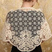 Аксессуары handmade. Livemaster - original item Shawl Grove Vyatka lace. Handmade.
