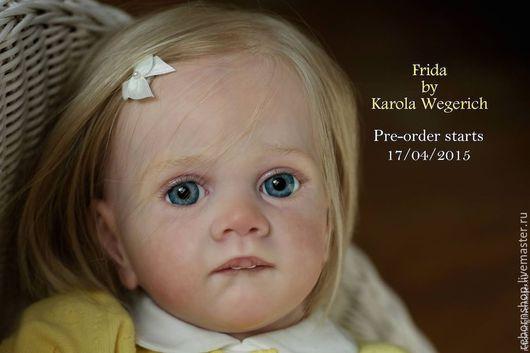 Куклы и игрушки ручной работы. Ярмарка Мастеров - ручная работа. Купить молд Frida  от Karola Wegerich. Handmade. Реборнинг, молд