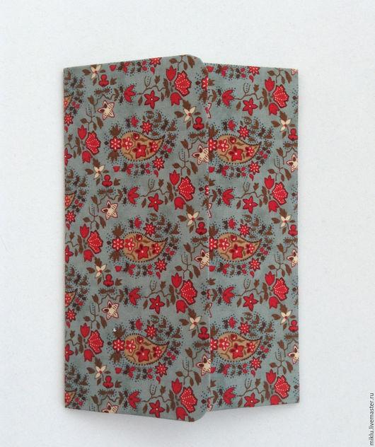 Открытки на все случаи жизни ручной работы. Ярмарка Мастеров - ручная работа. Купить Открытка двустворчатая из бумаги, обтянутой тканью. Handmade.