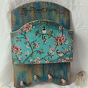Для дома и интерьера handmade. Livemaster - original item Key holder, hanger pocket