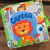 Куклы и игрушки ручной работы. Ярмарка Мастеров - ручная работа Развивающая книжка для малыша. Handmade.