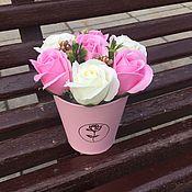 Цветы и флористика handmade. Livemaster - original item Bouquets: soap. Handmade.
