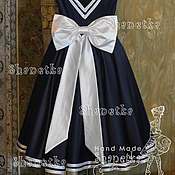 Одежда handmade. Livemaster - original item Dress women`s satin Alexander. Handmade.