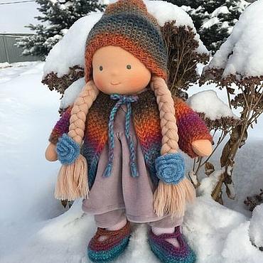 Куклы и игрушки ручной работы. Ярмарка Мастеров - ручная работа Маришка - вальдорфская куколка. Handmade.