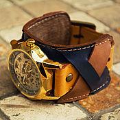 Украшения ручной работы. Ярмарка Мастеров - ручная работа Наручные часы Oliver, часы наручные на кожаном браслете ручной работы. Handmade.