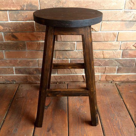 Мебель ручной работы. Ярмарка Мастеров - ручная работа. Купить Барный стул состаренный. Handmade. Стул, состаренная мебель, лофт