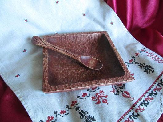 Тарелки ручной работы. Ярмарка Мастеров - ручная работа. Купить блюдо деревянное. Handmade. Деревянная посуда, резная тарелка