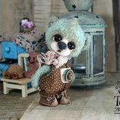 Куклы и игрушки handmade. Livemaster - original item Mint bear a Minivan. Handmade.