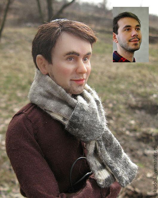 Портретные куклы ручной работы. Ярмарка Мастеров - ручная работа. Купить Пример портретной куклы. Handmade. Портрет на заказ