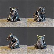 Материалы для творчества handmade. Livemaster - original item Little Bear charm. Handmade.