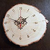"""Для дома и интерьера ручной работы. Ярмарка Мастеров - ручная работа Часы """"Лесные"""". Handmade."""